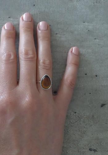 silver mood ring