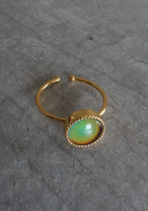 gold mood ring