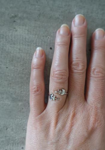 Silver handmade ring
