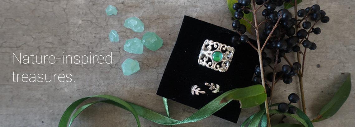 handmade mood rings