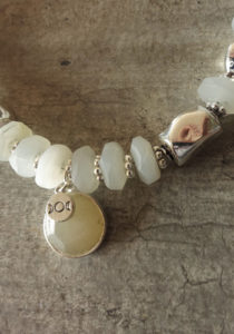 moon stone and silver necklace 2